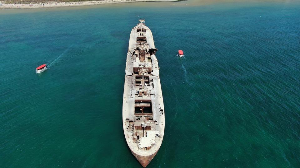 Shipwreack, Wreack, Costinesti, Sea, Naval, Ship