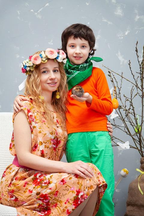 Family, Motherhood, Mother, Son, Mom, Kids, Wreath