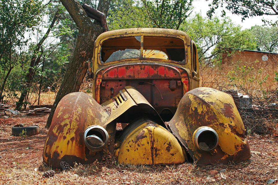 Free photo Wreck Abandoned Rusty Car Old Vintage Car Wreck - Max Pixel