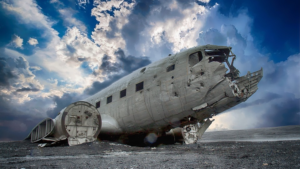 Plane, Wreck, Broken, Aircraft, Aviation, Wreckage