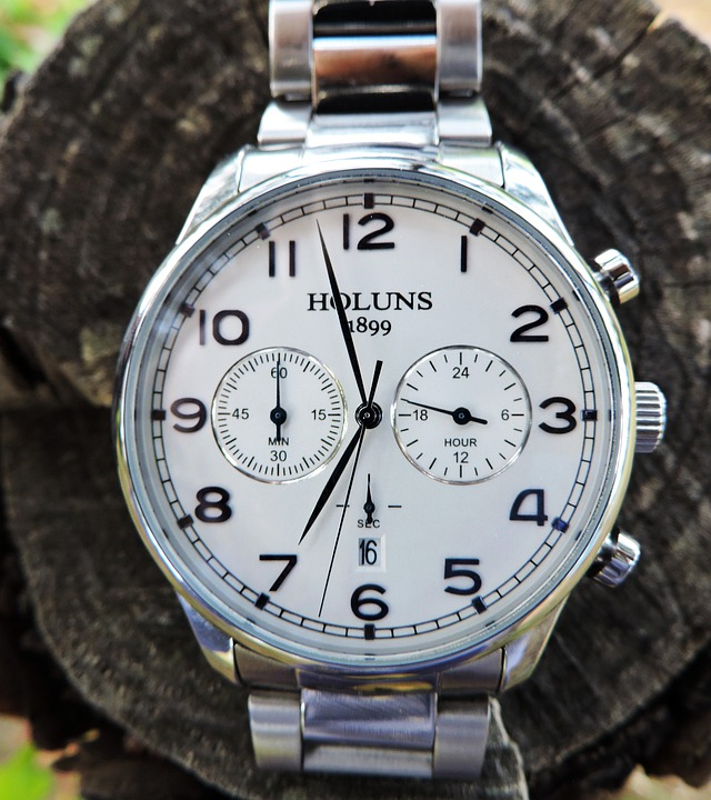 Wristwatch, Chronograph, Men, Classic, Elegant, Luxury