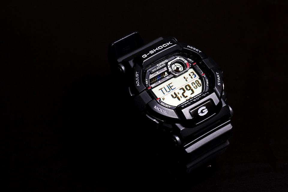 Wristwatch, Time, Watch, Casio, G-shock