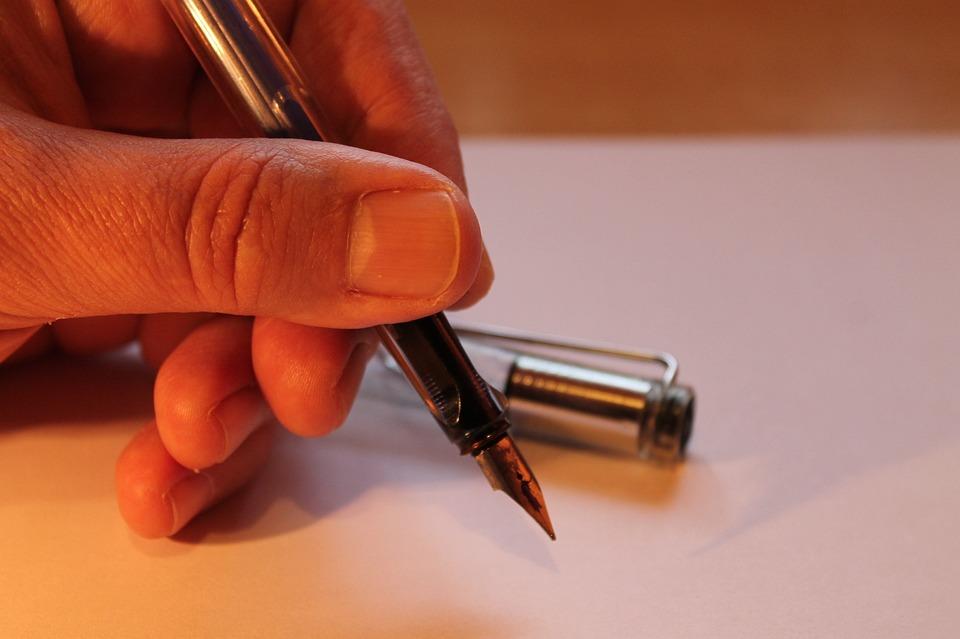 Hand, Filler, Write, Finger, Letters, Paper