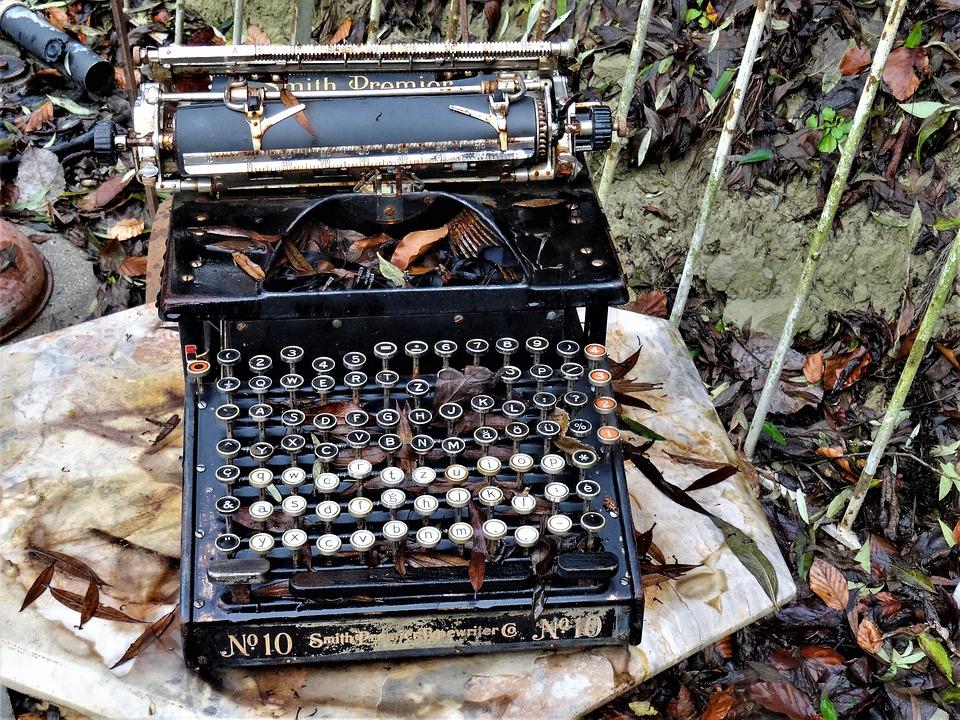 Typewriter, Antique, Retro, Write, Old, Machine, Writer