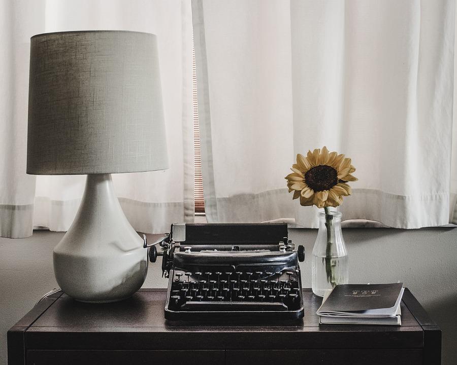 Desk, Typewriter, Office, Writer, Machine, Work
