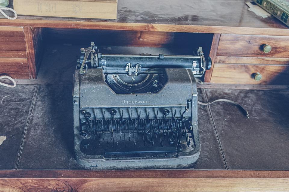Typewriter, Underwood, Writer, To Write, Typing, Retro