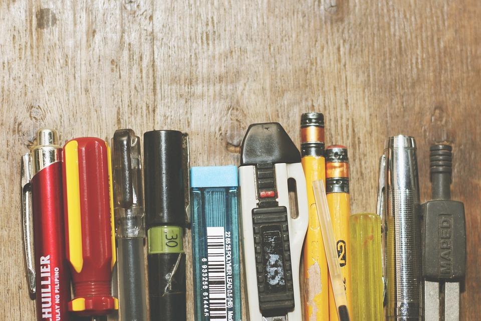 Writing Implements, Pen, Pencil, Pencil Lead, Tools