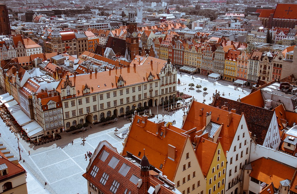 Old Town, The Market, Wrocław, Architecture, City