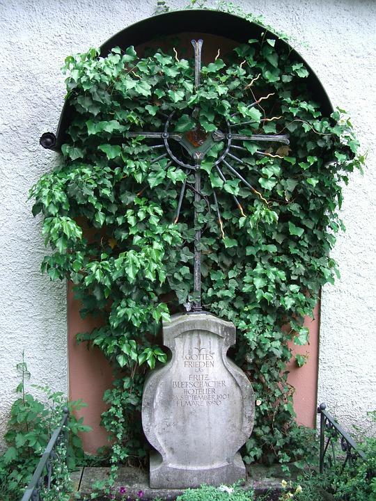 Allgäu, Füssen, Old Cemetery, Wrought Iron Cross