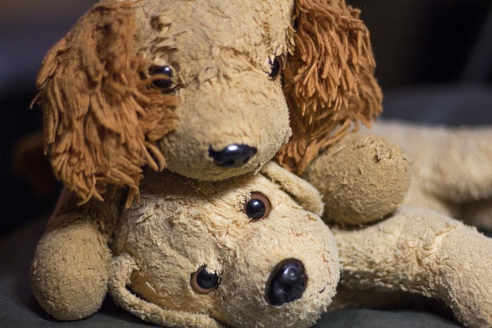 Wuffi, Bello, Dog, Soft Toy, Teddy Bear, Stuffed Animal
