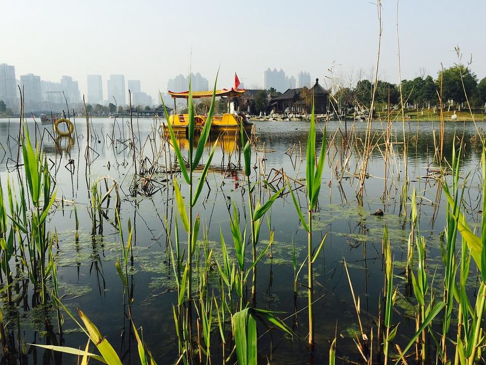 Wuhan, Sand Lake Park, Ship