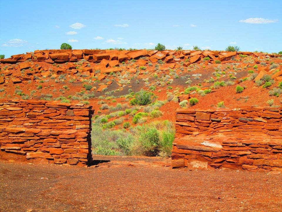 Wupatki Ruins, Indian Ruins, Arizona, Indian, Wupatki