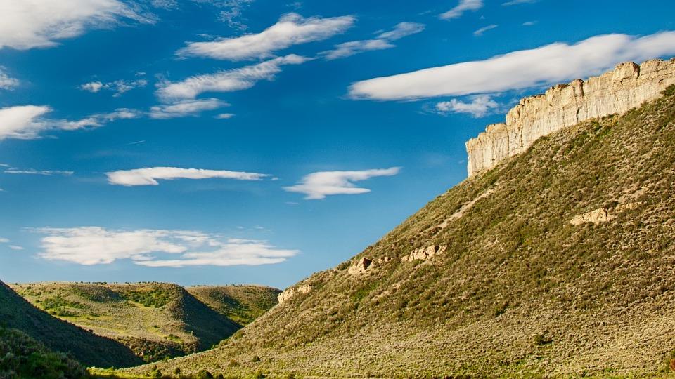 Mesa, Wyoming, Landscape, Outdoor, Scenic, America, Usa