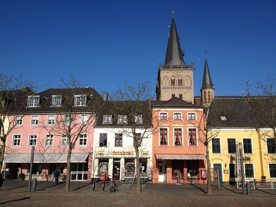 Xanten, Germany, Village, Downtown