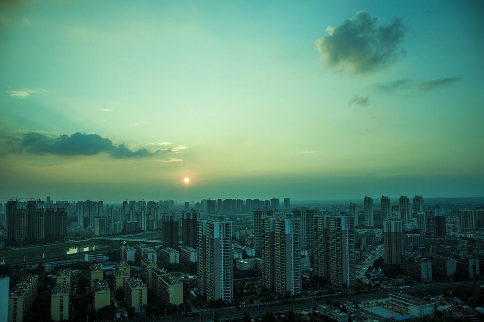 Xiangyang, Hubei, Xiangfan Night