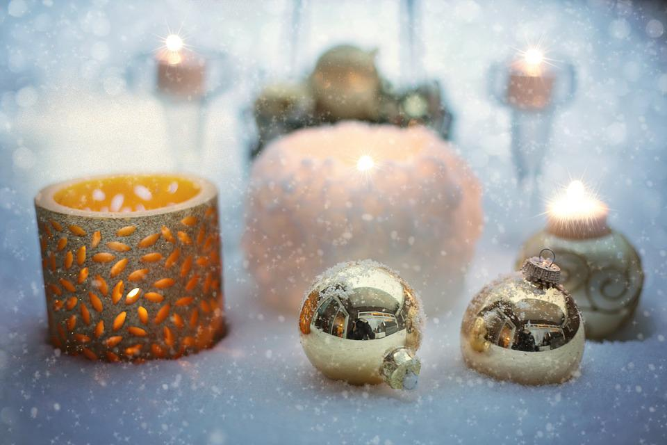 Snowy Still-life, Christmas, Winter, Decoration, Xmas
