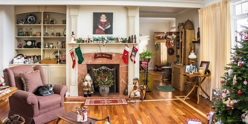 traditional home decorations christmas xmas holiday - Traditional Home Christmas Decor