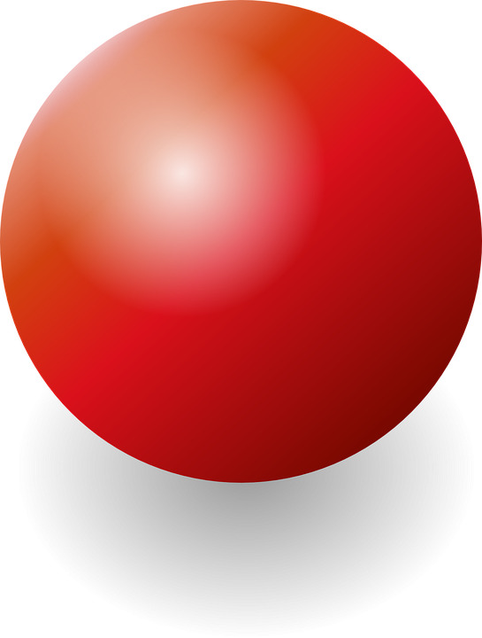 Ball, Red, Sphere, Shiny, Christmas, Xmas