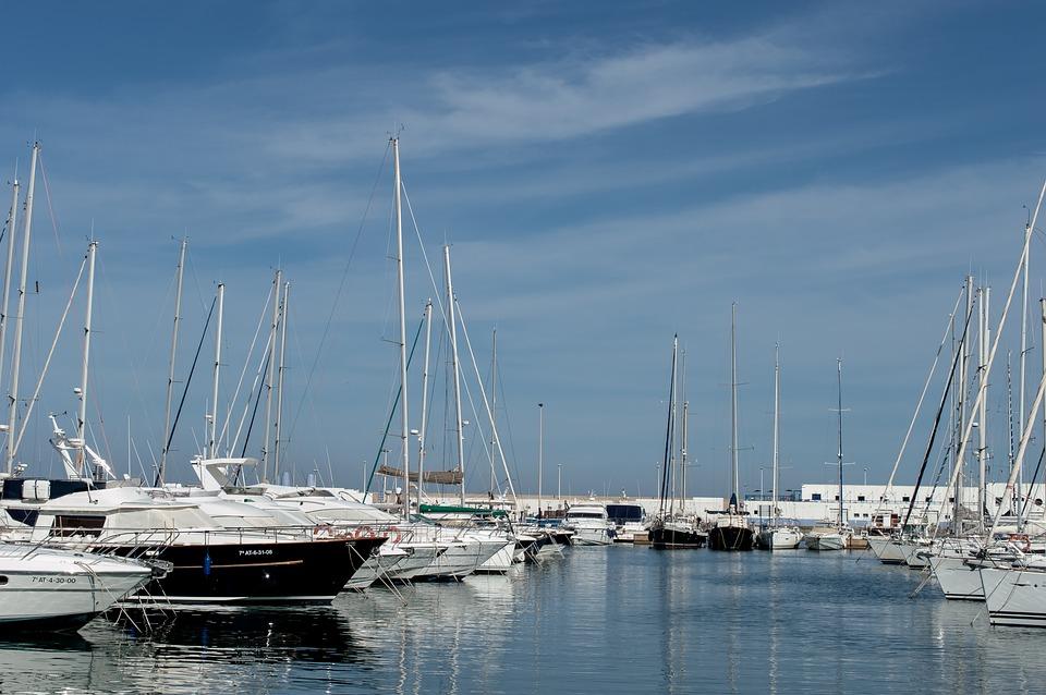Yacht, Sailboat, Harbor, Marina, Sea, Water, Boat