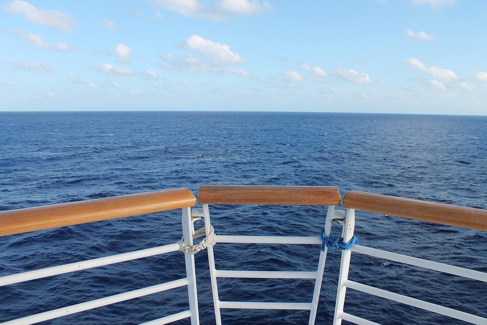 Ship, Yacht, Boat, Ocean, Water, Railing, Sail, Sailing