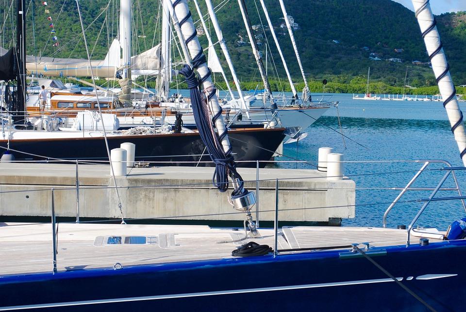 Sailboats, Sailing Yachts, Yachts, Yachting, Dock, Bow