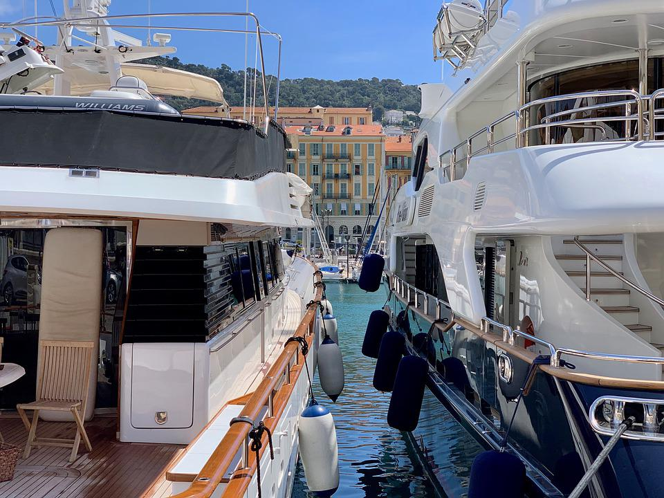 Yachts, French, Port, France, Sea, City, Yacht, Tourism