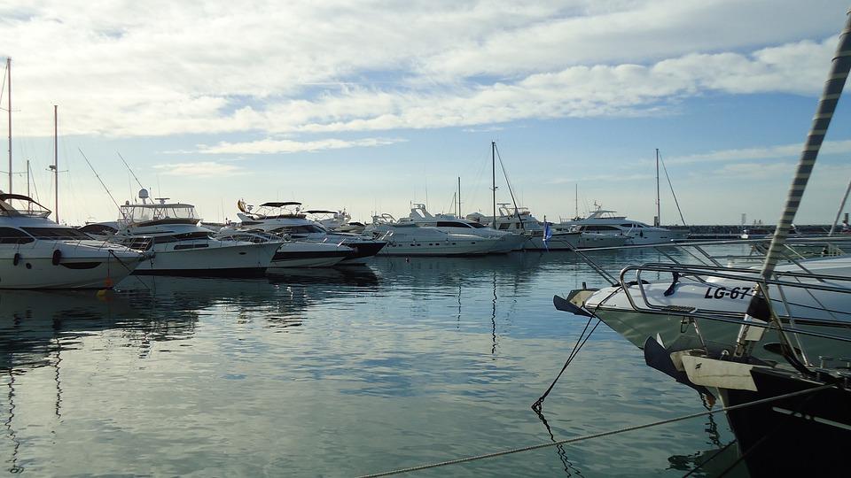 Marina, Yachts, Spring, Malaga, Port, Marbella, Spain