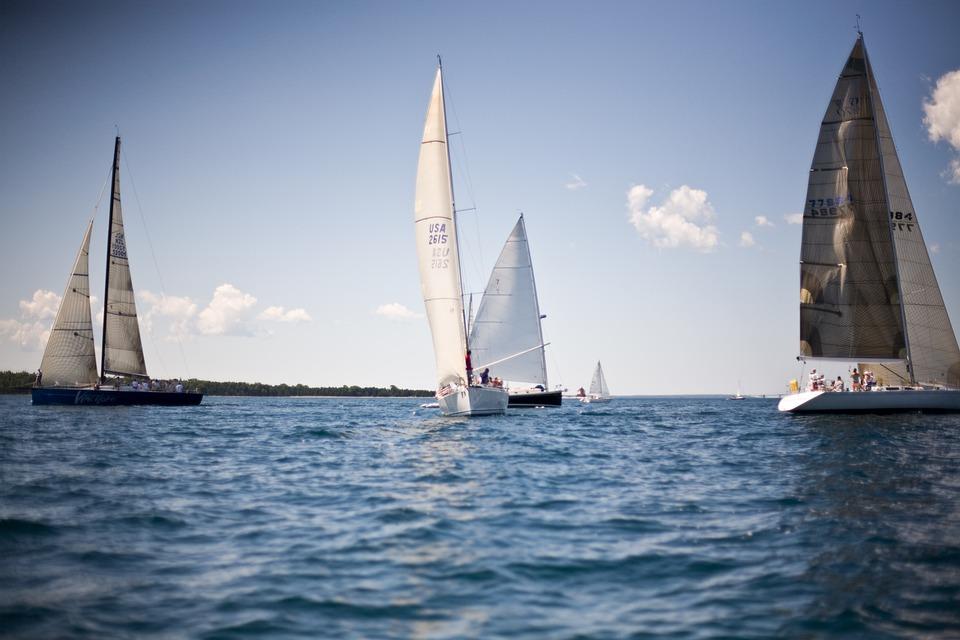 Sailing, Great Lakes, Mackinac Island, Yachts