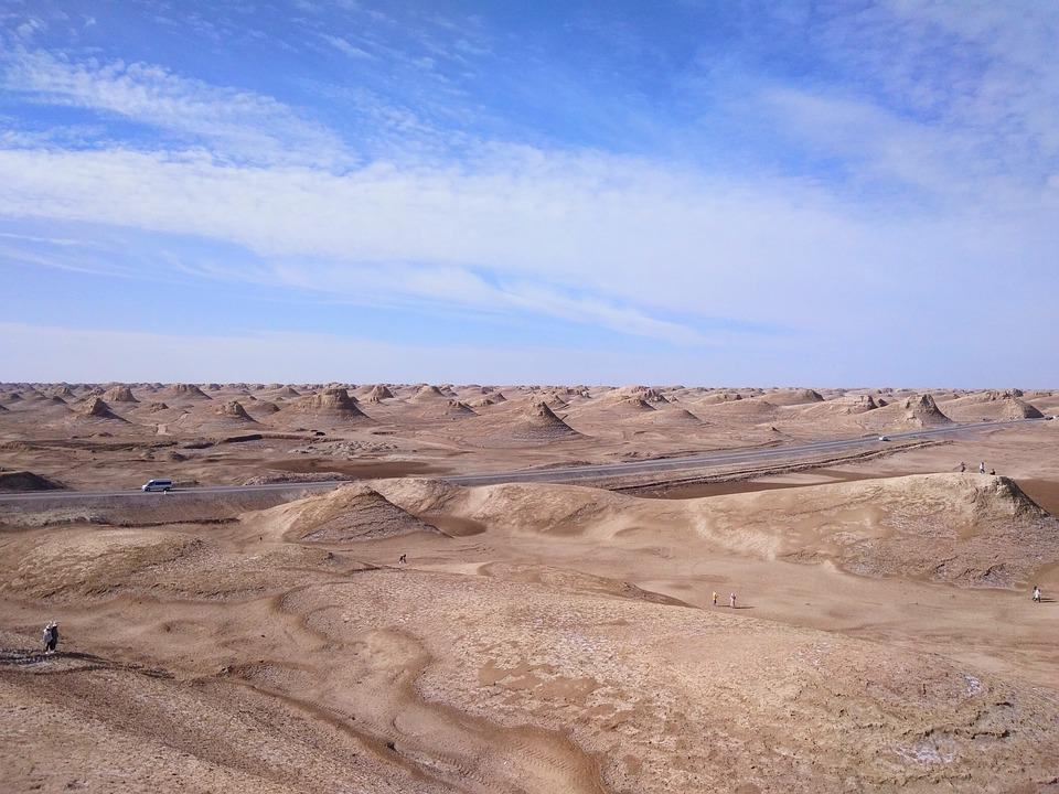 Yadan, Northwest, Landforms
