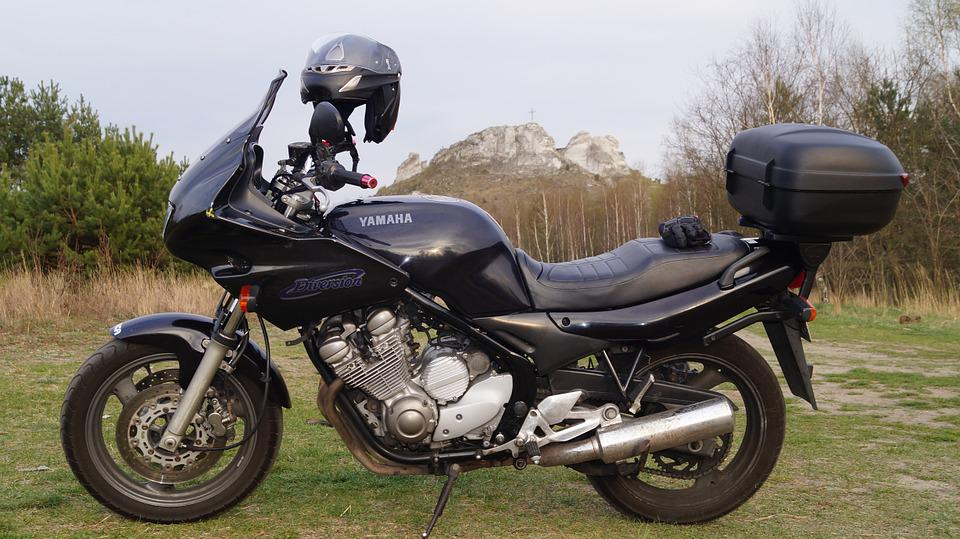 A Motorcycle, The Vehicle, Motor, Yamaha, Travel