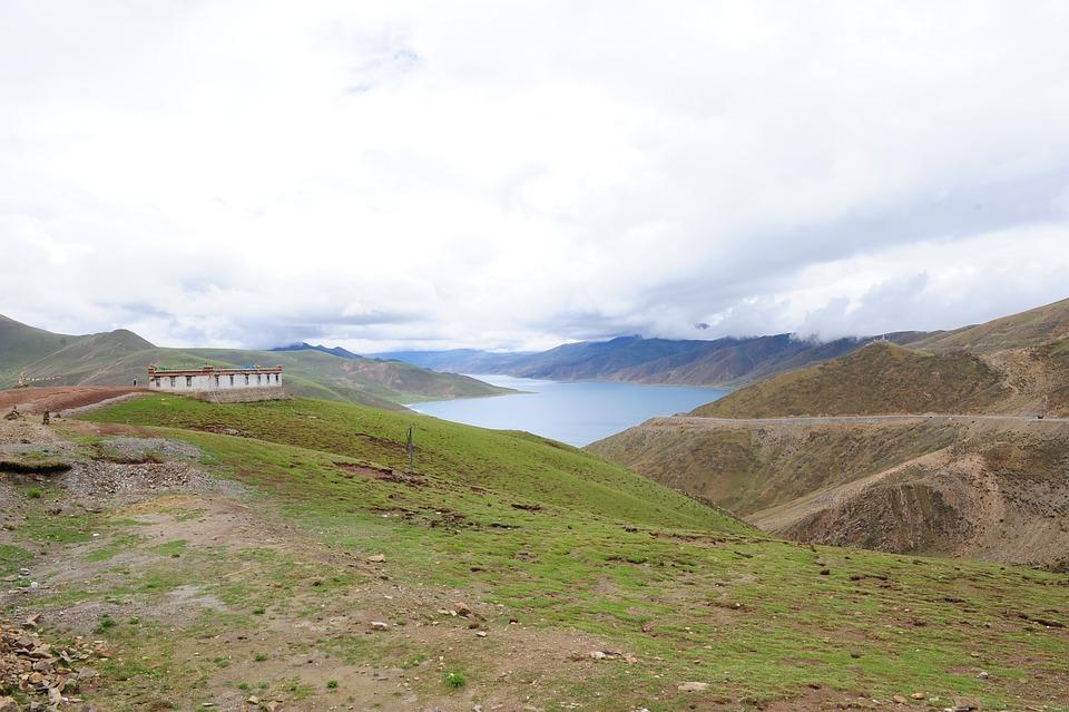 Yamdrok Tso, Lagoon, Tibet