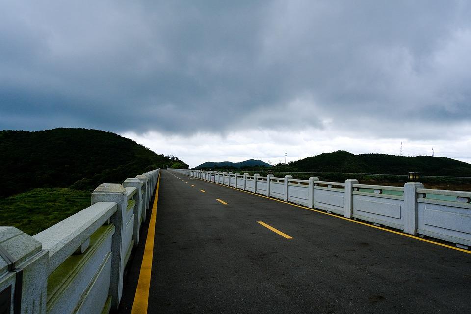 Road, Mountains, Yantian, Wutong Mountain, Sanzhoutian