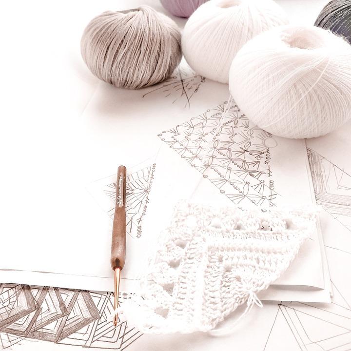 Knitting, Yarn, Tangle, Hook, Crochet