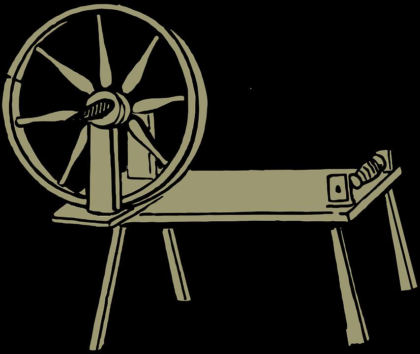 Spinning Wheel, Yarn, Wool, Wheel, Vintage, Spinning