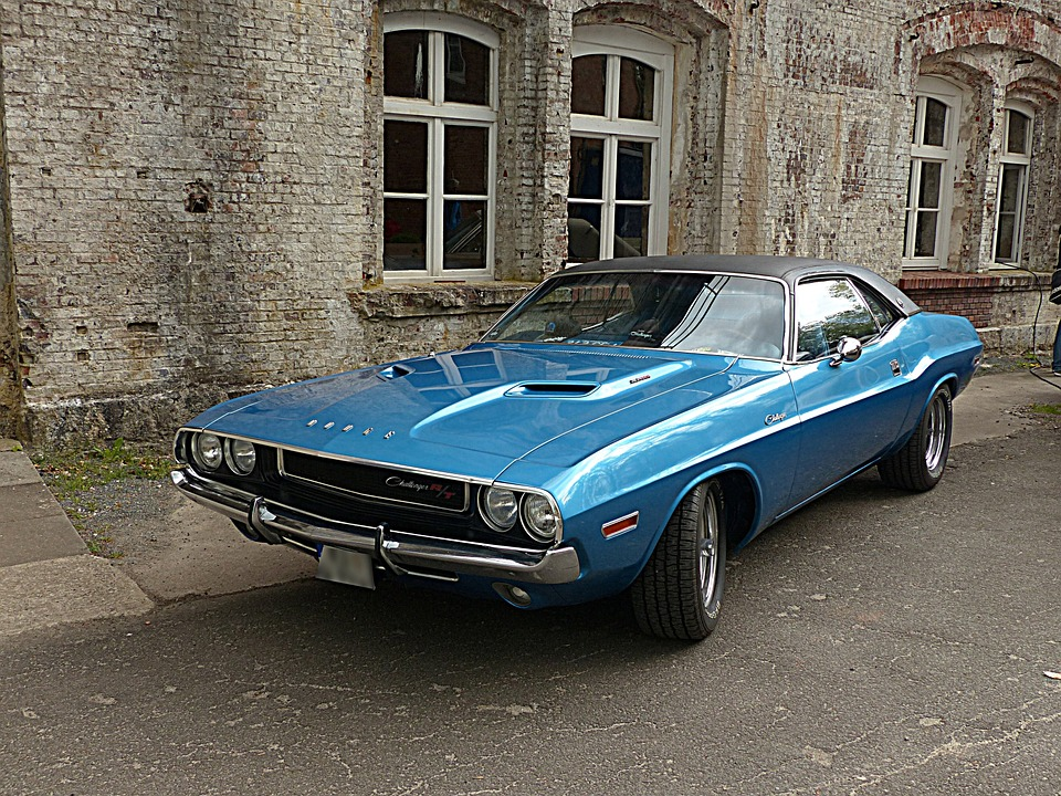 Auto, American Car, Dodge Challenger, Year Built 1970