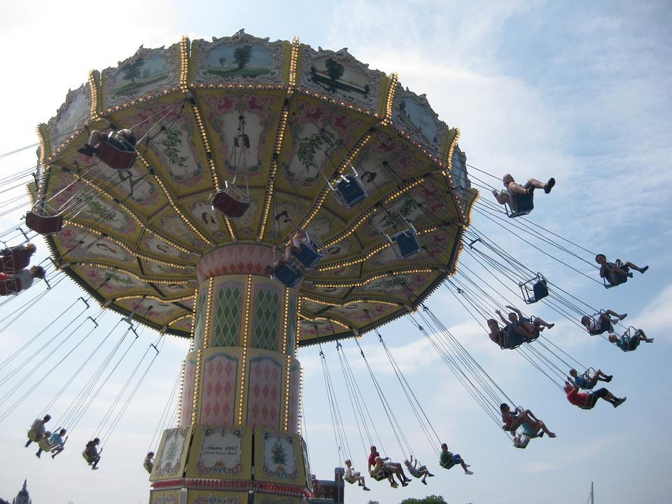 Carousel, Amusement Park, Year Market, Folk Festival