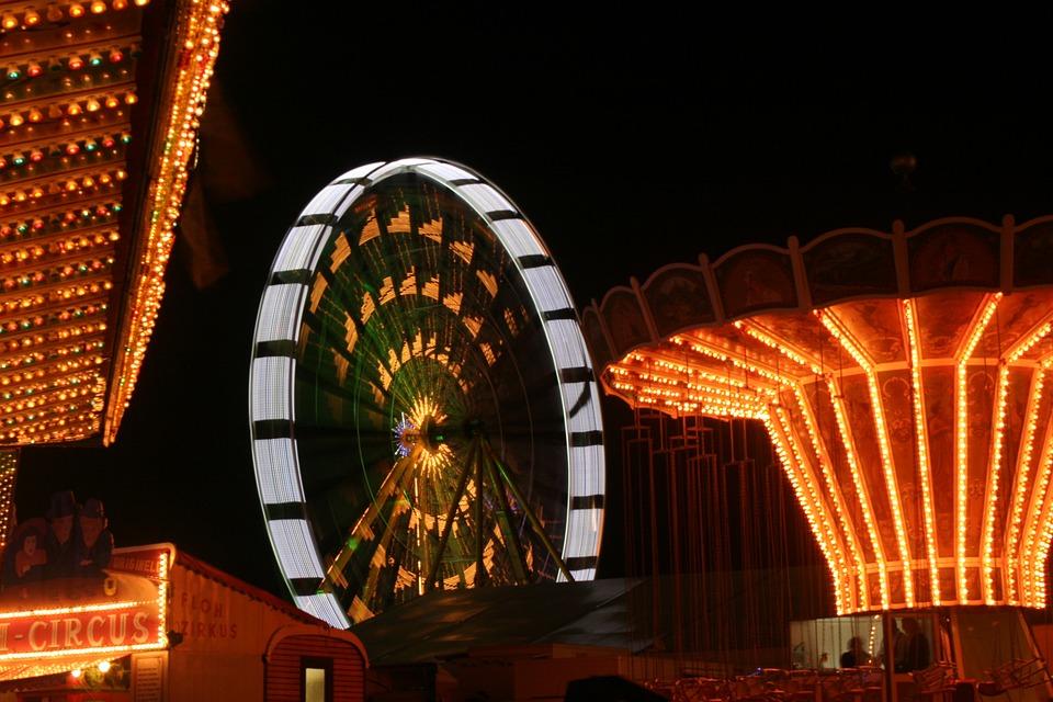 Ferris Wheel, Folk Festival, Year Market, Fair, Ride
