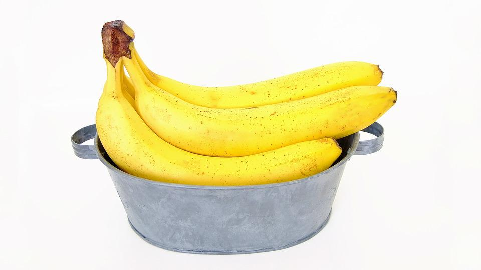 Bananas, Southern Fruit, Yellow, Meal, Grocery Store