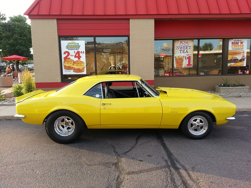 Free photo Yellow Chevrolet Camaro Muscle Car Street Rod - Max Pixel
