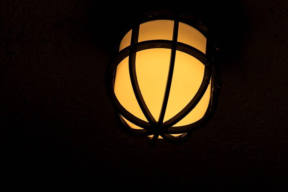 Lantern, Night, Yellow, Street Lamp, Light, Lamp, Road