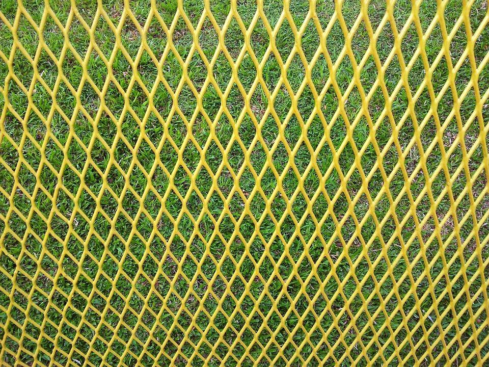 Yellow, Nets, Patterns, Designs, Diamond, Shaped