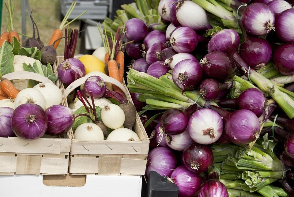 Fresh Vegetables, Onion, Red Onion, Yellow Onion