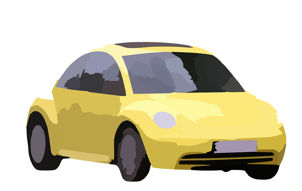 Car, Yellow, Vehicle, Transport, Auto, Automobile, Road