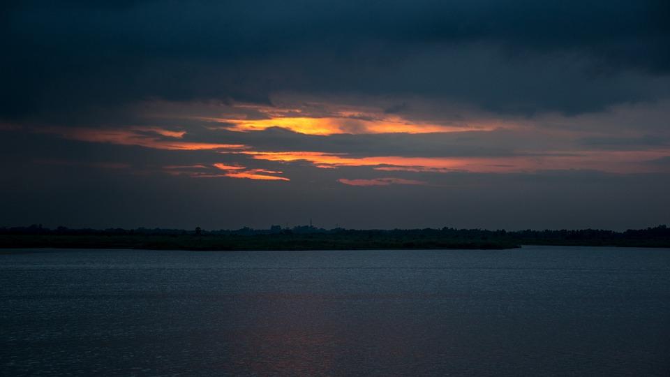 Sunset, Sun, Light, Color, Sky, Yellow, Evening, Travel