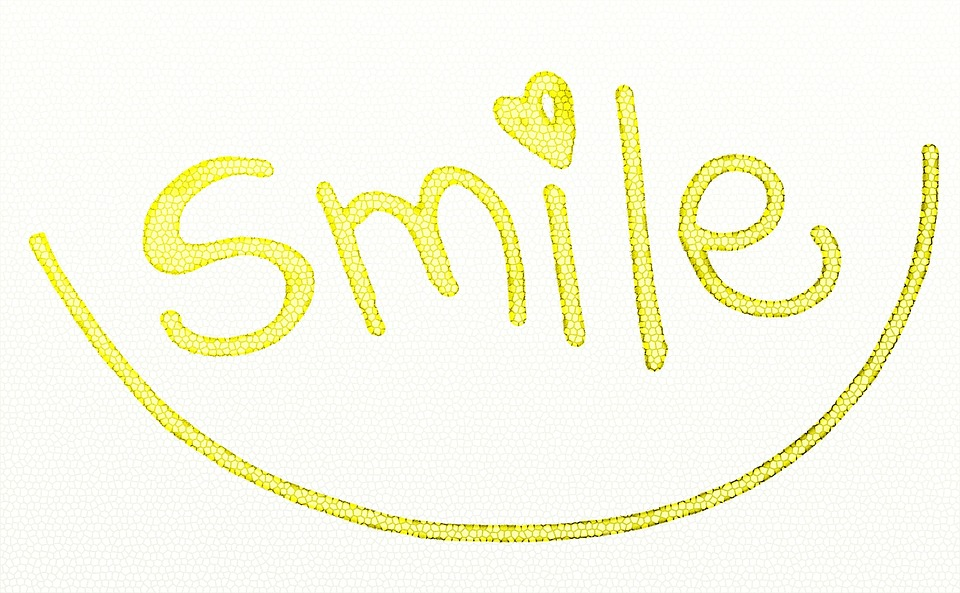 Smile, Text, Yellow, Smiling, Expressions, Font, Type