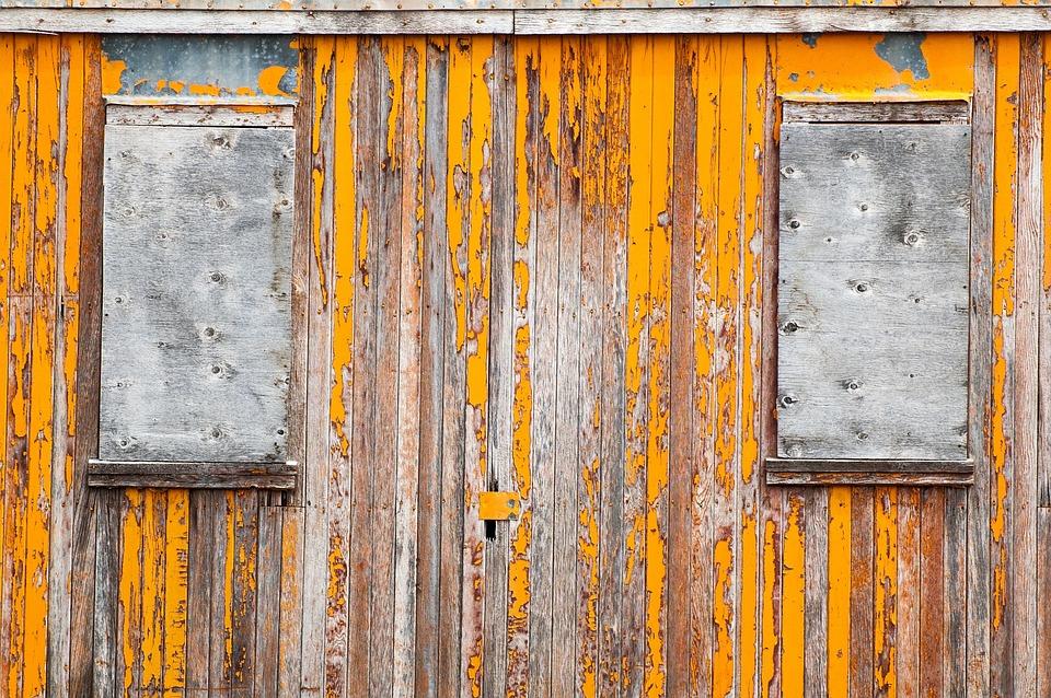 Train, Antique, Cars, Wooden, Yellow, Windows