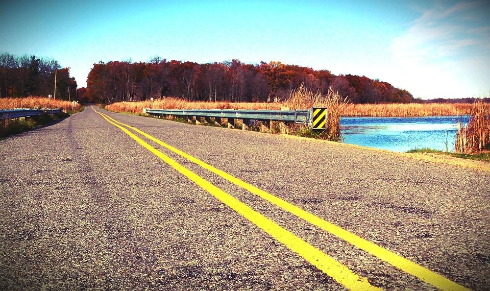 Road, Yellow Line, Travel, Asphalt, Street, Yellow