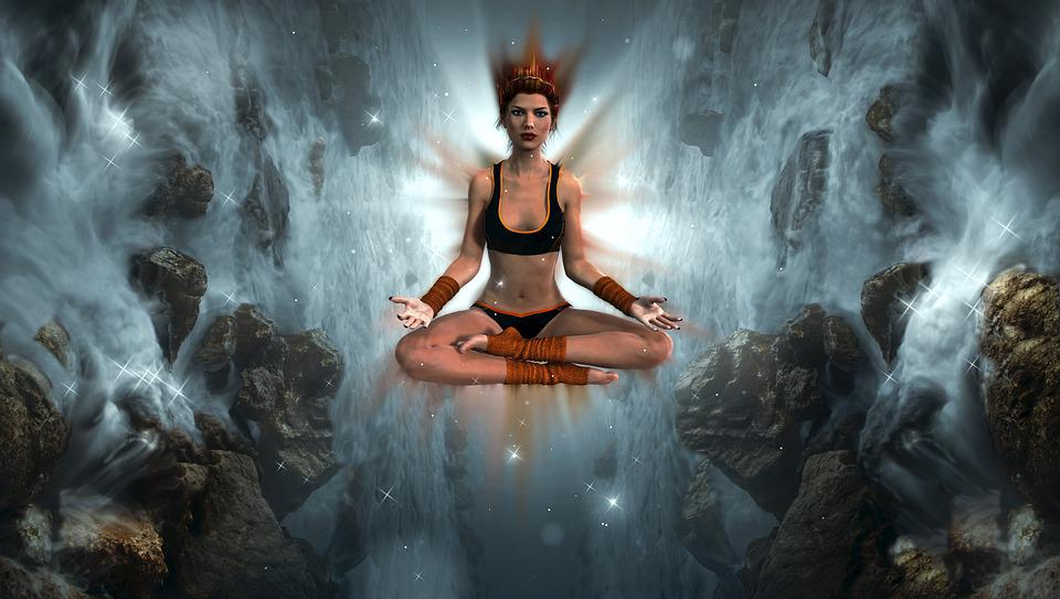 Free photo yoga atmospheric meditation mystical girl fantasy max pixel fantasy girl meditation yoga mystical atmospheric voltagebd Images