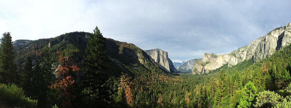Yosemite, Tunnel View, California