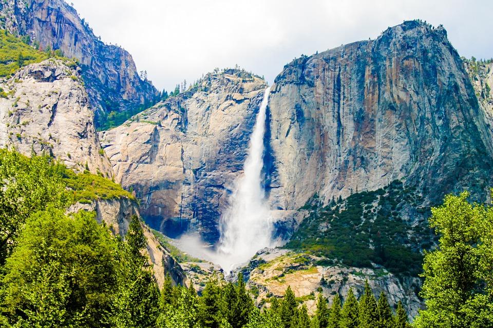free photo yosemite park fall mountain national california max pixel